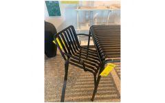 Palissade Arm chair (Sort) - Hay (UDSTILLINGSMODEL)