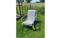 Palissade Lounge Chair High inkl. hynde (Hvid) - Hay (UDSTILLINGSMODEL)