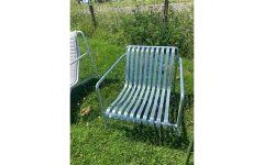 Palissade Lounge Chair (Galvaniseret) - Hay (UDSTILLINGSMODEL)